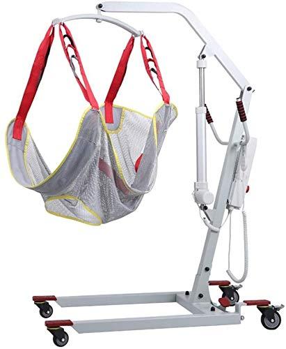 TINWG Persönlicher Hydraulic Patient Body Lift Manuelle Übergangsmaschinen- Behinderte ältere Geräte mit Medium Ganzkörper-Sling Gehen Stehhilfen Trägern 520