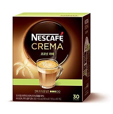 NESCAFE Instant coffee - Nescafe Crema 30 packets (Americano, Café Latte, Original Latte, Coconut Latte) (Coconut Latte)