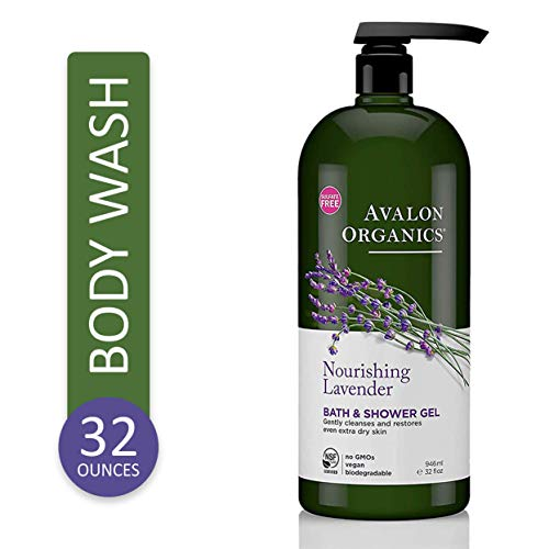 Avalon Organics Nourishing Lavender Body Wash and Shower Gel