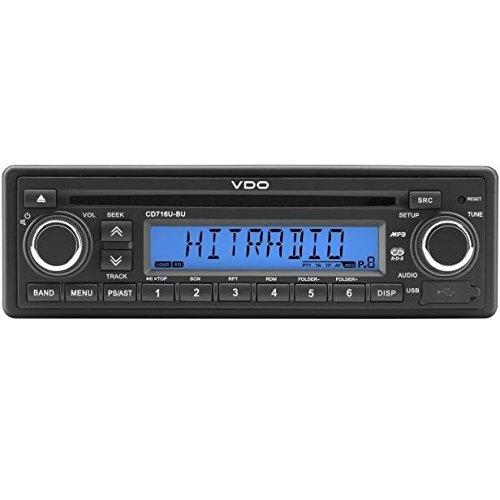 VDO CDD718UB-BU CD-Tuner/AUX/USB/Bluetooth/DAB+