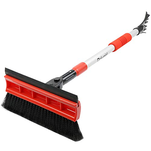 Our #5 Pick is the Drivaid Snow Brush with Squeegee
