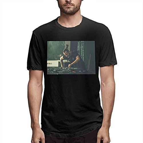 QQIAEJIA Krisiun Men's Classic Tshirt Cotton Shortsleeved Tshirt Black