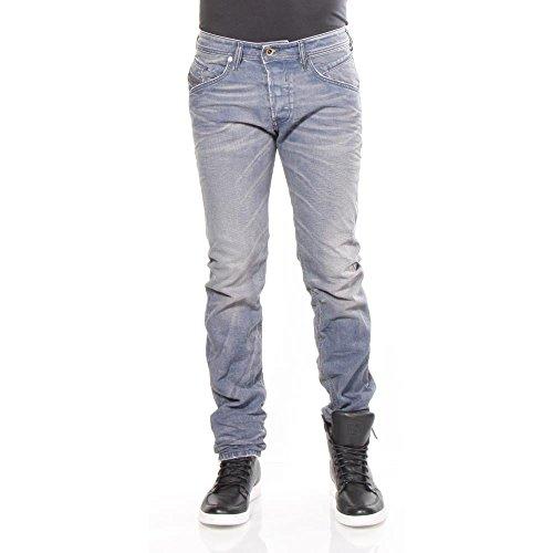Diesel Belther 0667N_Stretch Herren Jeans Hose Regular Slim Straight (Blau, W33/L32)