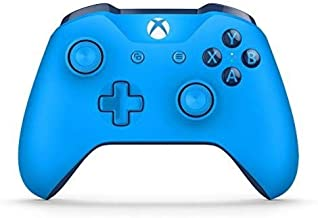blue shadow and gold xbox one controller