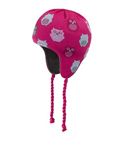 Döll Mädchen Inkamütze Strick Mütze, Rosa (Raspberry Sorbet|Pink 2210), (Herstellergröße: 51)