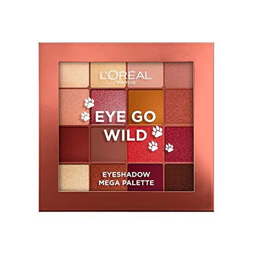 L'Oreal Paris Make-up Designer Palette de Sombras Eye go Wild, 16 Tonos 29.6 g