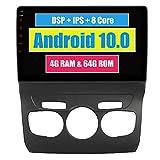 RoverOne Sistema Android Coche Radio GPS para Citroen C4 2011 2012 2013 2014 2015 con Navegación Estéreo Multimedia Bluetooth DSP Mirror Link