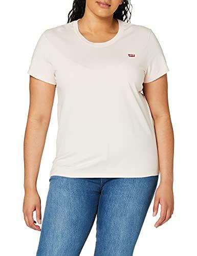Levi s Perfect Tee T-Shirt, Pink (Peach Blush 0076), Medium Donna