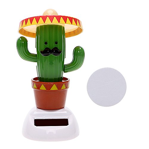 iTimo Car Ornaments Dancing Shaking Head Auto Dashboard Decoration Car Accessories (Cactus)