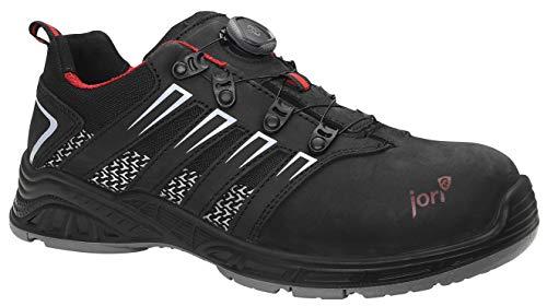 JORI Sicherheitsschuhe jo TWIST BOA Low S1P, Damen, Sneaker, sportlich, Schwarz, Kunststoffkappe - Größe 43