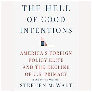 The Hell of Good Intentions audiobook cover art
