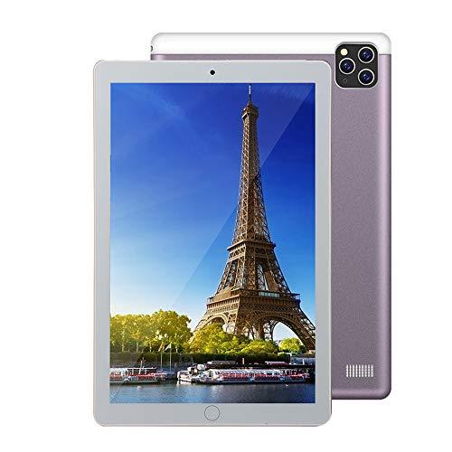 Android 5.1 Tablet con Pantalla 10.1' Full HD con 1GB de RAM + 16GB de ROM,Cámara Trasera de 2.0MP + Cámara Frontal de 0.3MP,Procesador Octa-Core,Soporte WiFi Bluetooth GPS OTG
