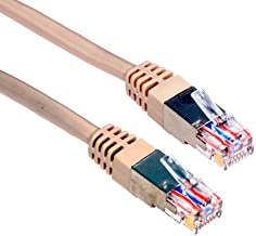 Amphenol MP-52RJ11SNNE-100 Category 5E Phone/Modem Patch Cable, RJ11, Shielded, 100', Beige