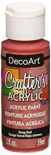 Deco Art Peinture Acrylique 59 ML Rouge Profond