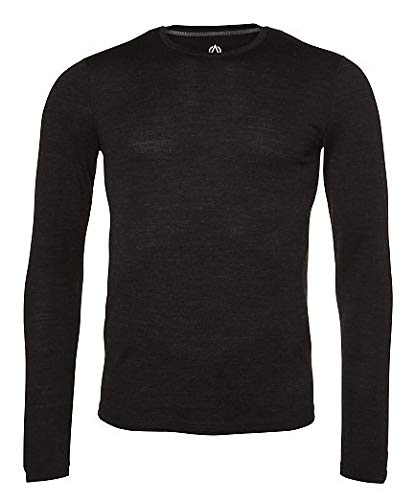 North Bend ExoWool Baselayer LS - functioneel ondergoed voor heren