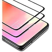 BANNIO Protector de Pantalla Xiaomi Mi 9T / Mi 9T Pro/Xiaomi Redmi K20 / K20 Pro,2 Unidades Cobertura Completa Cristal Templado con Kit de Instalación,9H Dureza,Sin Burbujas,Negro