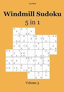 Windmill Sudoku 5 in 1: Volume 3