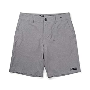 PELAGIC Deep Sea Hybrid Fishing Shorts | Size 34 | Grey