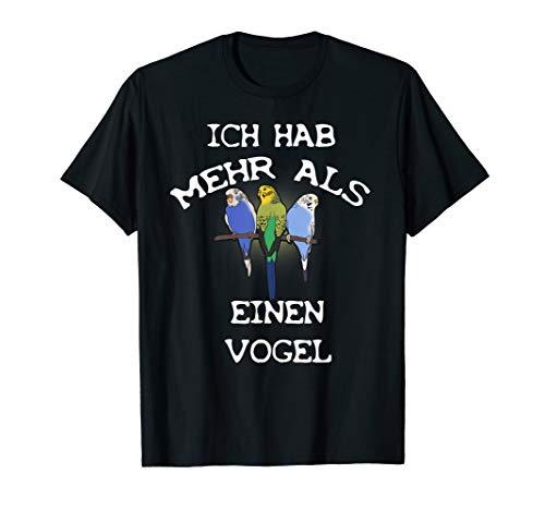 Wellensittiche Sittich Vogel Nymphensittich Shirt