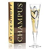 RITZENHOFF Champus Champagnerglas, Glas, Schwarz, Gold, Platin, 0.1 cm