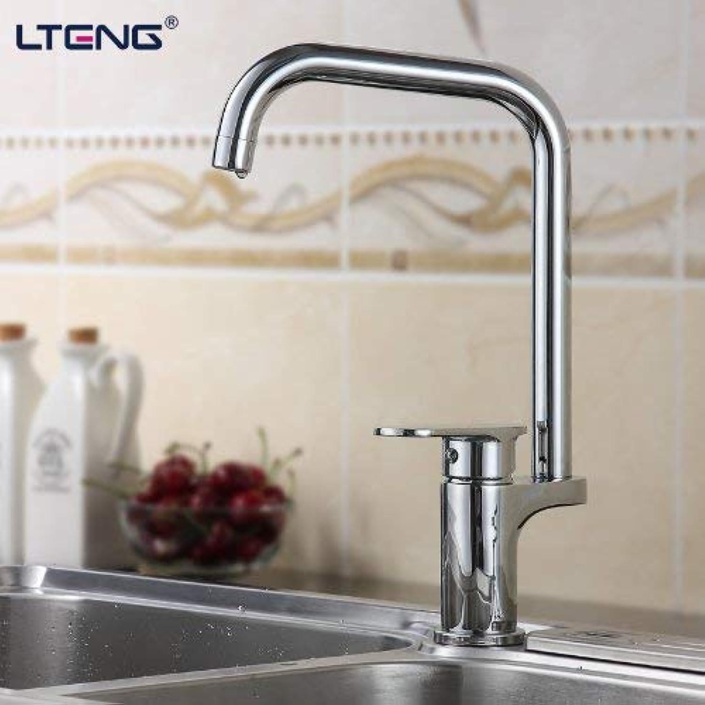 Oudan All Copper Kitchen Faucet Mixer Vegetables Basin Sink Faucet redatably Lt-9028 (color   -, Size   -)