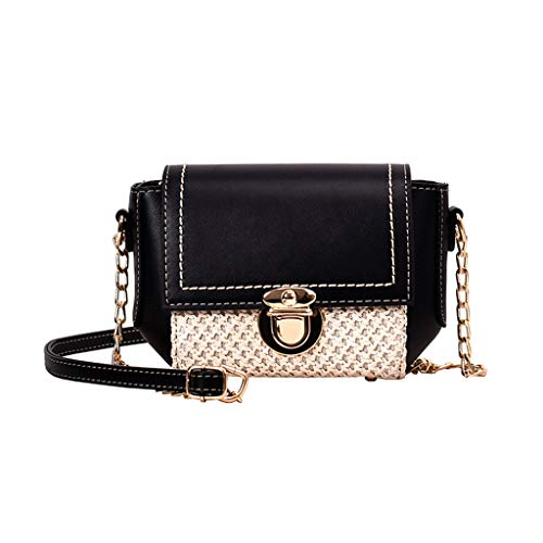 OIKAY Mode Damen Tasche Handtasche Schultertasche Umhängetasche Mode Neue Handtasche Frauen Umhängetasche Schultertasche Strand Elegant Tasche Mädchen 0605@069