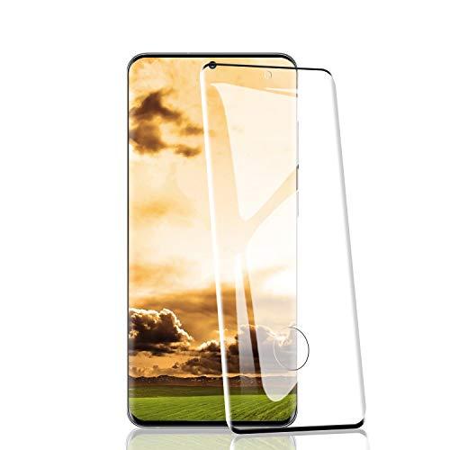 RIIMUHIR 2 Pièces de Verre Trempé pour Samsung Galaxy S20, Anti-Traces de Doigts, Dureté 9H, sans Bulles, HD Transparent