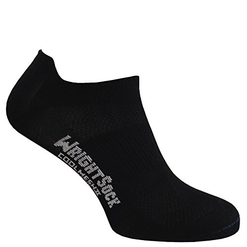 Wrightsock Coolmesh II Low Tap Socke Black 45.5-49