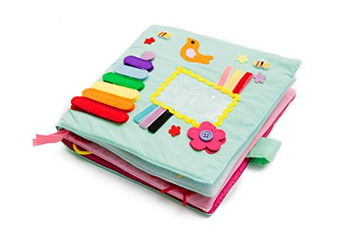 Play with Quiet Book, Educational Toy, Toddler Activity Book, Busy Book, Toy Book