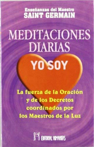 Meditaciones Diarias, Yo Soy de Saint Germain (2001) Tapa blanda