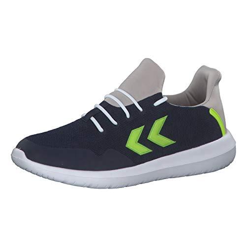 Hummel Actus Trainer 2.0, Zapatillas Unisex Adulto, Azul (Black...