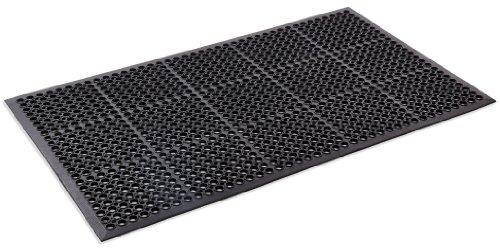 Kempf Anti- Fatigue Drainage Rubber Mat 3' X 5'