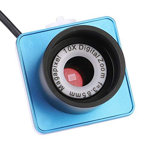 Ocular Electrónico,Telescopio Monocular, 1.25 Inch Telescopio Digital con Cámara Ocular Electrónica, para Puerto USB de Astrofotografía-640x480 Píxeles