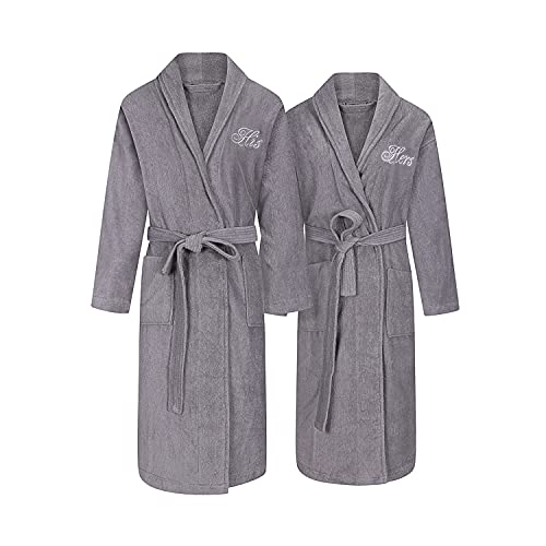 His & Hers Spa Robes