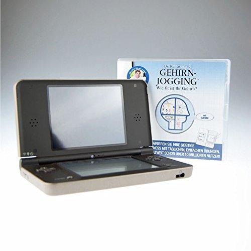Nintendo DSi XL braun mit Dr. Kawaschimas Gehirnjogging inklusive Ladekabel und Stift
