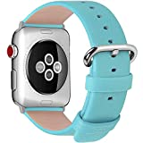 Fullmosa kompatibel mit Apple Watch Armband 38mm in 15 Farben für iWatch Serie 5/4/3/2/1,Himmelblau...