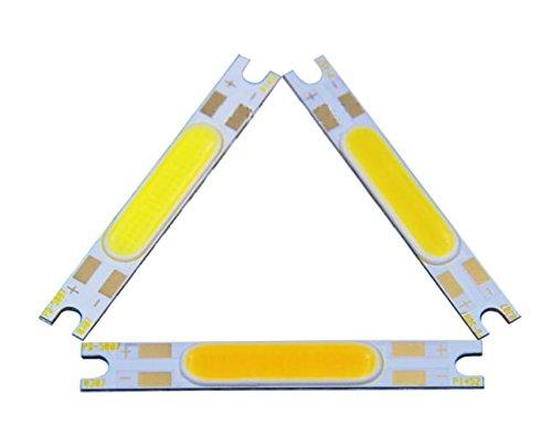 MASUNN 5W Dc 9-12V Cob Chip Led Lichtquelle An Bord 50X7Mm Für Wandlampen Tisch Laterne - Natur Weiß