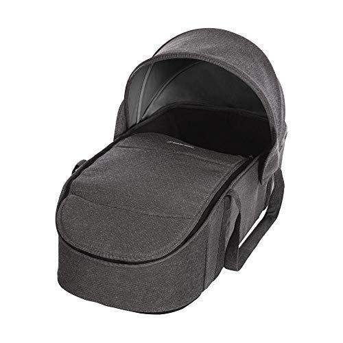Maxi-Cosi Laika bequem gepolsterte und geräumige Softtragetasche, Kinderwagenaufsatz ab Geburt verwendbar, sparkling grey