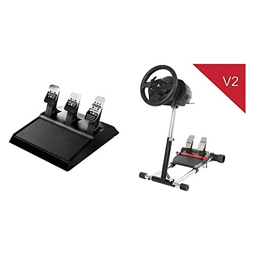 Thrustmaster T3PA - 3 Pedaliera Add On - PS4 / PS3 / Xbox One/PC & T300 TX DELUXE, simulatore di guida