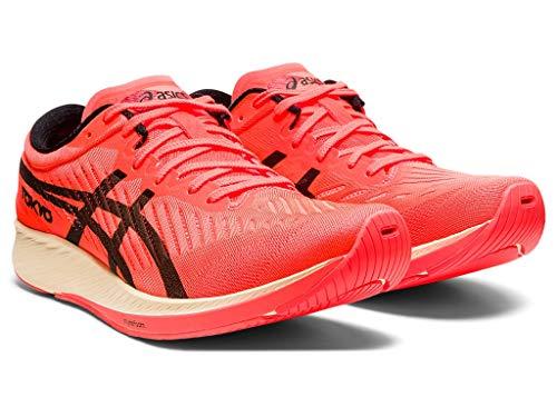 ASICS Women's Metaracer Tokyo Running Shoes, 11M, Sunrise RED/Black