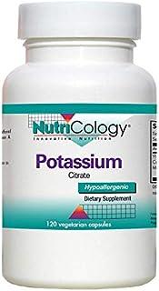 NutriCology Potassium Citrate 120 Vegetarian Capsules