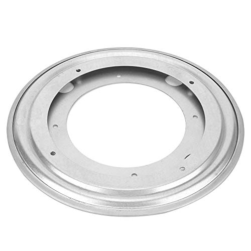 Turntable Bearing Swivel Plate Solid for Bar Chairs Car Seats Office Swivel Chairs(8 inch galvanized round turntable)
