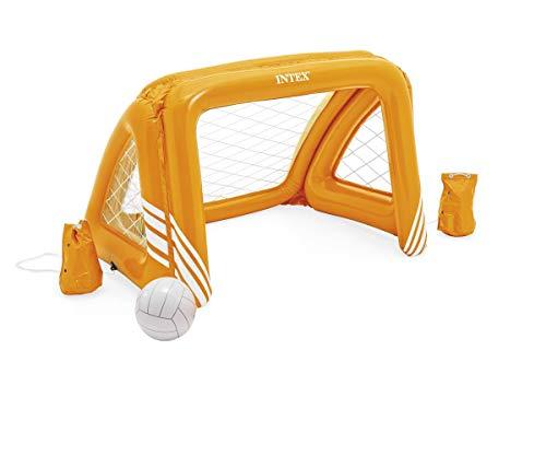 INTEX Fußballtor mit Ball aufblasbar Wasserballtor 140x89x81cm Spielzeug Planschbecken NEU