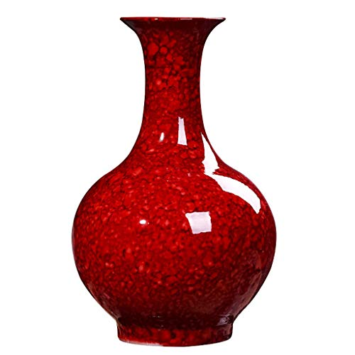 Vaas van keramiek, Chinees, Feng Shui, decoratie, huis, creatief, woonkamer, mahonie, wijnkast, decoratie, bloemen en planten