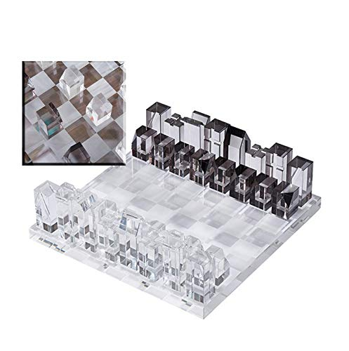LINWEI Juego de ajedrez de Tablero de ajedrez Juego de ajedrez de...