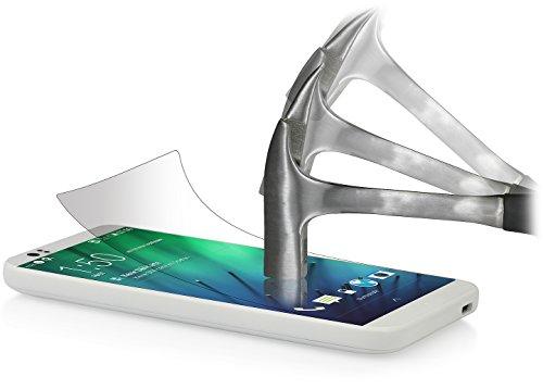 StilGut Bildschirmschutzfolie aus Sicherheitsglas kompatibel mit HTC Desire 510 (2er-Pack)