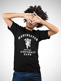 ATIQ Manchester United F.C. T-Shirt for Men X Large, Black
