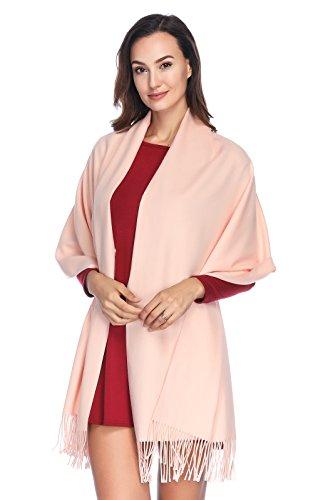 HOYAYO Einfarbiger schal für Frauen,Damen Umschlagtuch Warm Schal Tuch Stola(vielen Farben)