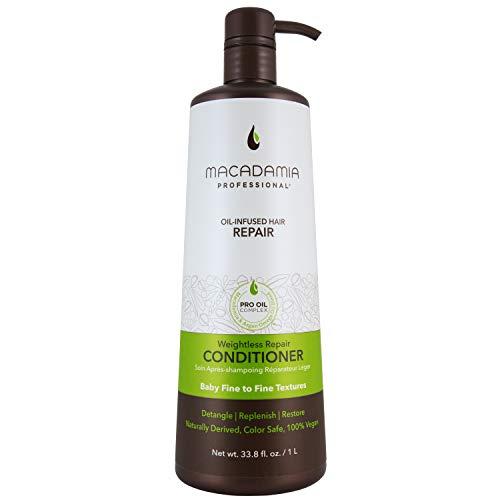 Macadamia Oil Mac Weightless Moisture Balsamo Idratante Per Capelli - 1000 ml