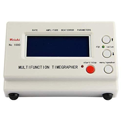 TTLIFE NO.1000 Tester per orologi meccanici per cronometraggio, macchina di prova per orologi meccanici ad alta precisione Timegrapher multifunzione per orologi meccanici
